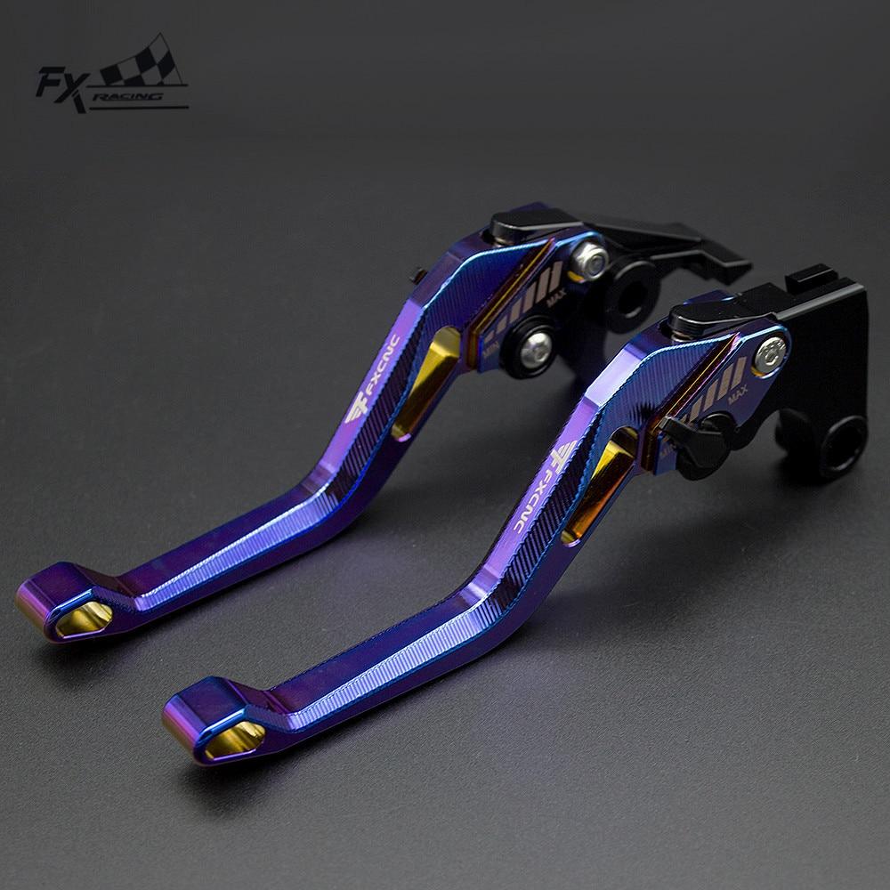 3D с гальваническим покрытием мотоцикла тормозной рычаг сцепления для Yamaha YZF R1 R6 R3 R25 R15 R125 MT03 MT07 MT09 MT 07 MT-09 FZ07 FZ09 рычаги