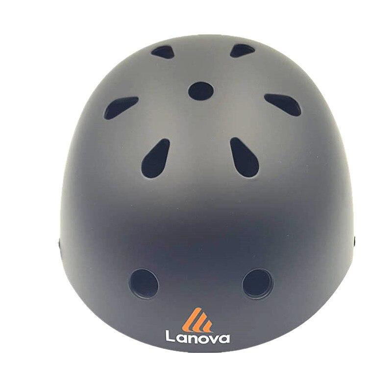 Prix pour LANOVA Sports Extrêmes De Patinage Casque Vélo BMX VTT Vélo Escalade Casque pour Scooter Rouleau Inline Skate Planche À Roulettes 3 Taille