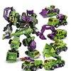 Hot IN STOCK Transformation Robot Ko Version Gt Scraper Of Devastator Right Thigh Action Figure Toys