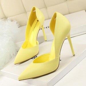 Women Pumps Fashion High Heels