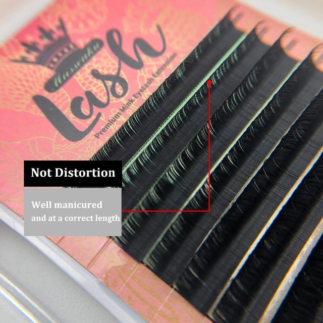 High Quality 16Rows 8-18mm Length Faux Mink Eyelashes Individual Eyelash Lashes Soft Eyelash Extension False Eyelash 4