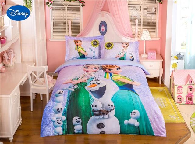 Zeer Disney Frozen Elsa en Anna Karakter beddengoed 3D Beddengoed RK89