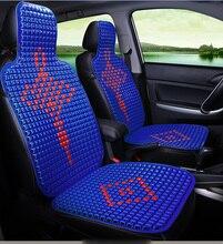 Verão Fresco Respirável Almofada Do Assento de Carro nó Chinês elementos de Plástico Auto Microônibus Casa Tampa Da Cadeira