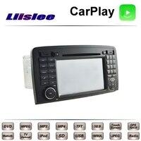 For Mercedes Benz R W251 R300 R320 R280 R350 R500 LiisLee Car Multimedia DVD GPS Radio Carplay Original Style Navigation Navi