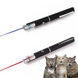 5mW عالية الطاقة مؤشر ليزر 532nm الأزرق البنفسجي الأحمر الليزر ضوء القلم التدريس مقدم شعاع قوية الصيد الليزر البصر جهاز
