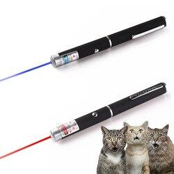 Puntero láser de alta potencia de 5mW 532nm azul-violeta rojo bolígrafo de luz de enseñanza de rayo de luz potente de caza vista dispositivo