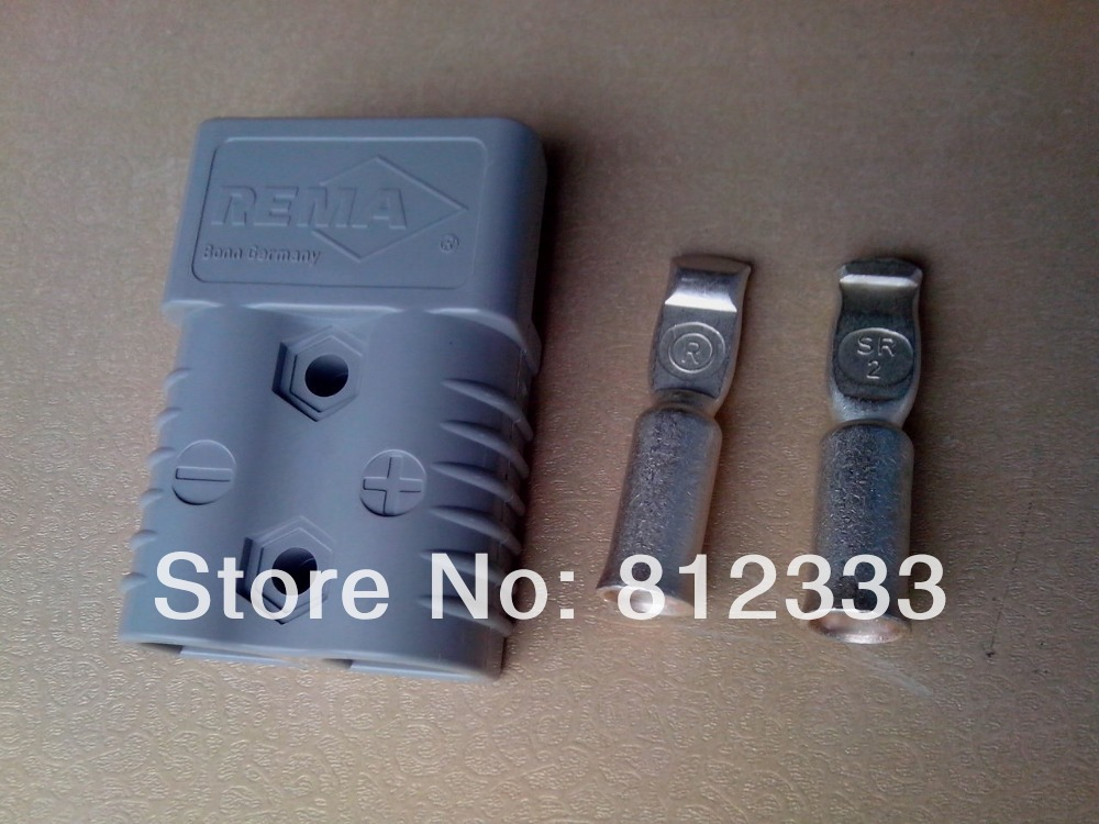 Original REMA Gray SR175A 600V Power Connector Battery Plug Charger Plug With SR 2 Contacts For