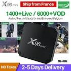 Arabic IPTV Box X96 MINI Android 7.1 Smart TV Box Amlogic S905W QHDTV IPTV Subscription Europe Belgium French Arabic IPTV Box