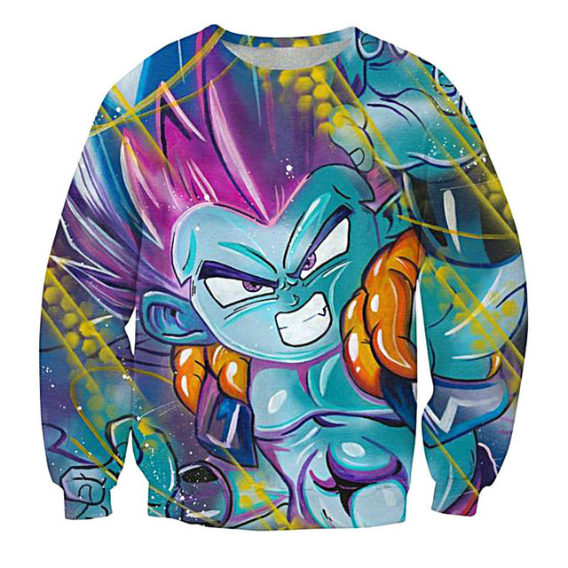 Long Sleeve Dragon Ball Z Hoodies Sweatshirts Pullover