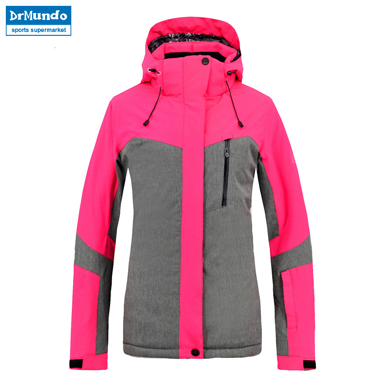 2018 New Brand Women Ski Jacket Waterproof Winter Thermal High Quality Thick Snowboard Jackets Women Warm Skiing Snow Coat winter men jacket new brand high quality candy color warmth mens jackets and coats thick parka men outwear xxxl