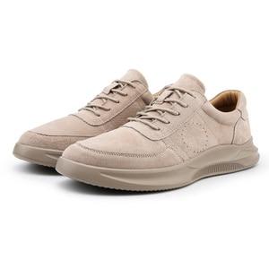 Image 3 - Misalwa 2020 חדש אמיתי עור נעליים יומיומיות גברים ופרס זמש גברים נעליים לנשימה חיצוני נעלי Zapatos צעיר גברים סניקרס