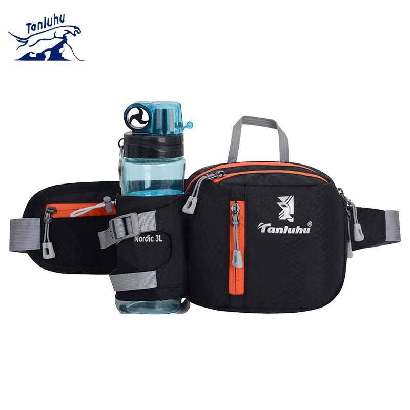 TANLUHU 389 Men Women Water-resistant Running Jogging Cycling Marathon Climbing Sports Waist Bag Water Bag Phone Pouch
