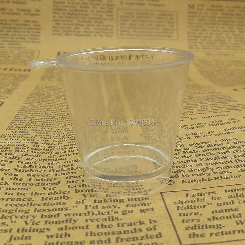 20pcs/lot kawaii Icecream bucket imitation PVC Plastic glass 41mm Artificial Parfait Cups Miniature Food Deco Part