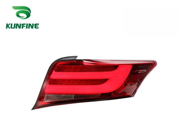 KUNFINE Pair Of Car Tail Light Assembly For TOYOTA VIOS 2014 2015 2016 LED Brake Light With Turning Signal Light pair of car tail light assembly for toyota corolla 2014 led brake light with turning signal light kf l7066