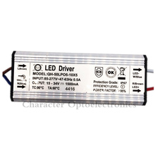 5pcs High Quality LED Driver DC15-34v 50w 1500mA 5-10x5w Power Supply Waterproof IP67 FloodLight Constant Current