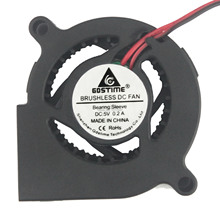 1pcs Gdstime 5V 2Pin DC 5cm 50mm x 20mm Centrifugal Cooling Cooler Blower Fan