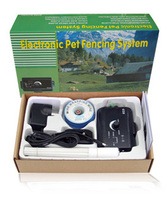 Safety Pet Waterproof Train Control Device Collar Hidden Yard Dog Electric Fencing System Training Collar Fence