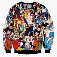 One Piece 3D Graphic Sweatshirt
