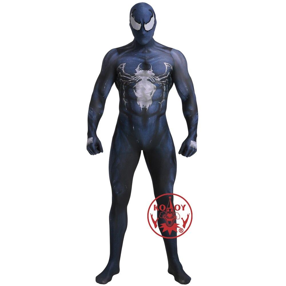 Marvel super-héros venin Symbiote Spiderman Cosplay Costume Zentai peau serré Costumes combinaison Halloween adulte enfants fête Costumes
