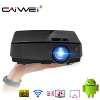 A3+A Android Projector 4000 Lumens Support 1080P Videos HDMI Home Cinema Movie Video Projector Wireless Beamer