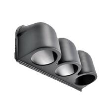 """EE Поддержка черный """" 52 мм Универсальный 3 тройной тире Калибр метр POD держатель XY01"""