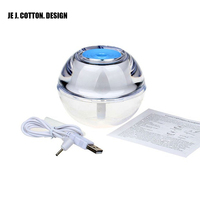 New Crystal Air Humidifier For Home Ultrasonic Humidifiers With LED Night Light Air Fresher Atomizer Mist