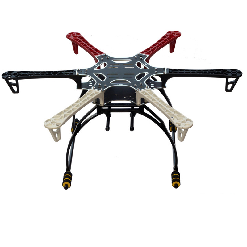 FPV F550 Hexa Frame Arm HexaCopter PCB With Landing Gear Gimbal Protector Battery Plate For Flamewheel F550 HJ550 Quadcopter