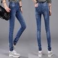 NEW Fashion Brand Women Skinny Pencil Slim Jeans Denim Elastic Pants Good Quality Woman Casual Jean Pants