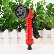 Регулируемый пластиковый водяной пистолет-разбрызгиватель высокого давления сопло садовый шланг подходит для полива и очистки автомобиля инструмент пистолет посыпать