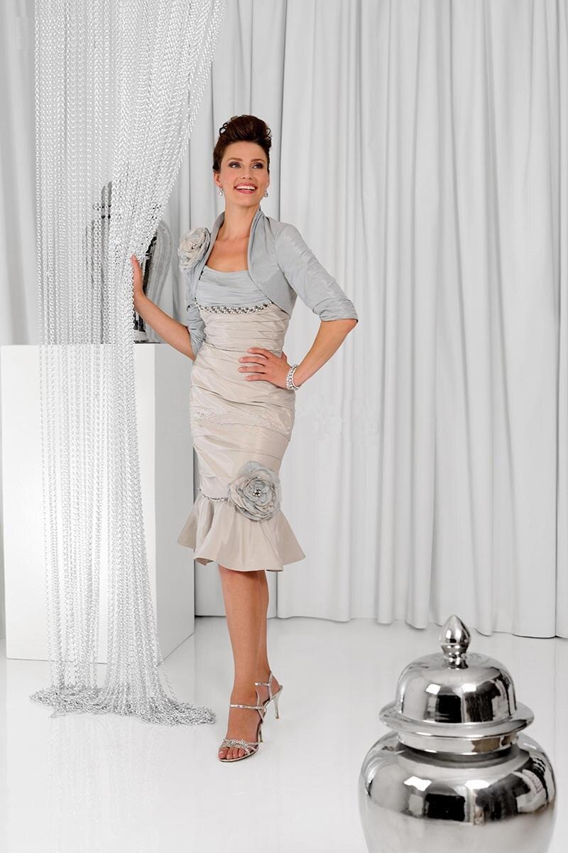 Платье-футляр для матери невесты; платье с пиджаком; платья для невесты ручной работы с цветами