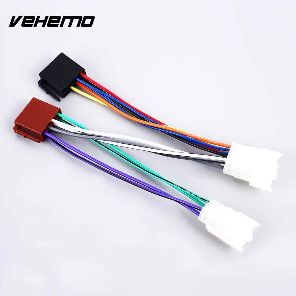 hight resolution of  plug wire iso wiring harness matched audio line tail line connector adaptor line dedicated stereo radio