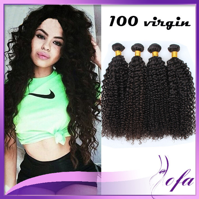 Aofa Hair Weave Brazilian Wet And Wavy Kinky Curly 30 Inches 32 Inch