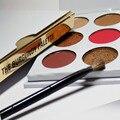 2017 NUEVA KYLI Set 9 Color En 1 Maquillaje BORGOÑA Kyshadow Cosméticos Paleta de Sombra de ojos Shimmer Mate Sombra de Ojos Paleta de Maquillaje NAKE