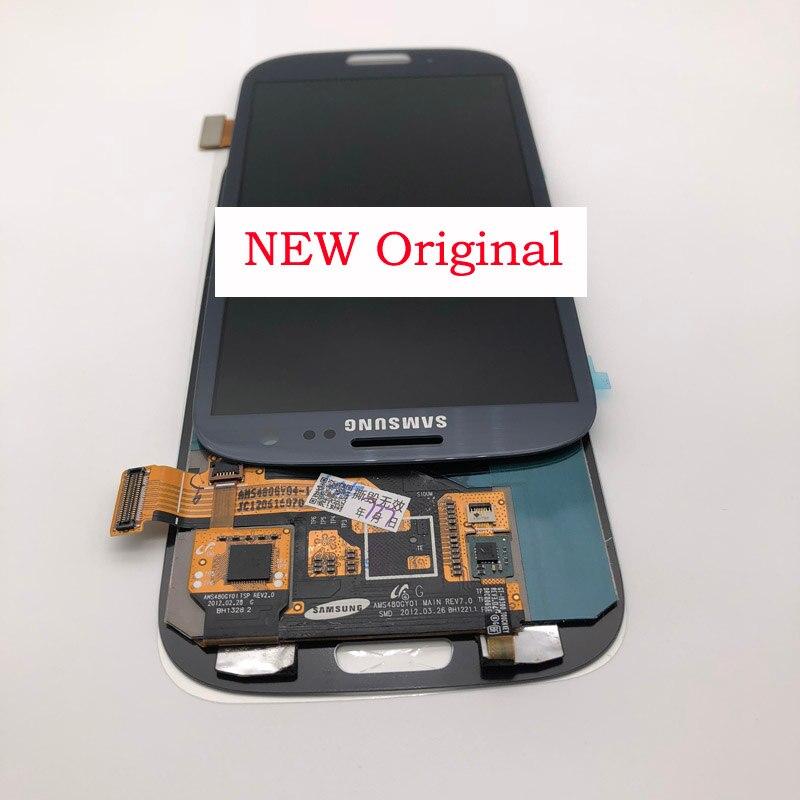 4.8 ''nouvel écran Original SUPER AMOLED pour SAMSUNG Galaxy S3 LCD écran numériseur i9300 i9300i i9301 i9301i i9305 écran LCD