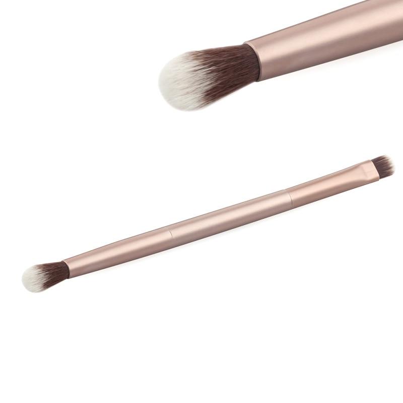 Профессиональный вдвое закончился тени для век макияж Косметические кисти инструмент Горячая Распродажа SK88