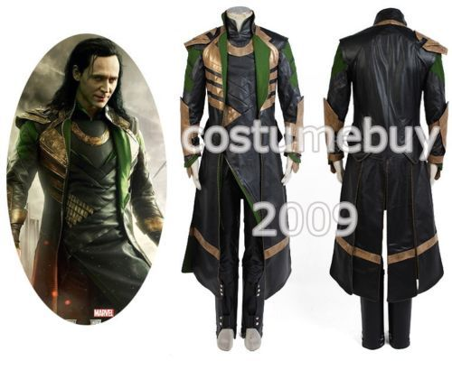 Thor The Dark Mondiale Loki Cosplay Costume Adulte Hommes Uniforme Cape Outfit Manteau Veste Halloween Film Costumes Custom Made