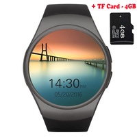 KW41 Bluetooth Smart Watch Phone Full Screen Support TF Card & SIM Card Smartwatch Heart Rate for Sony Xperia C3 C4 C5 Z5 XZ LG
