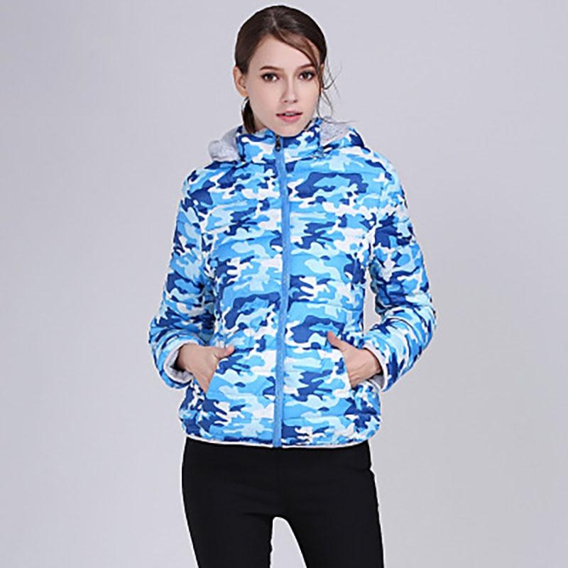 Parka Winter Bubble Cotton Coat Warm Hooded Jacket Women ZTqUwZ 449fd7b8b489
