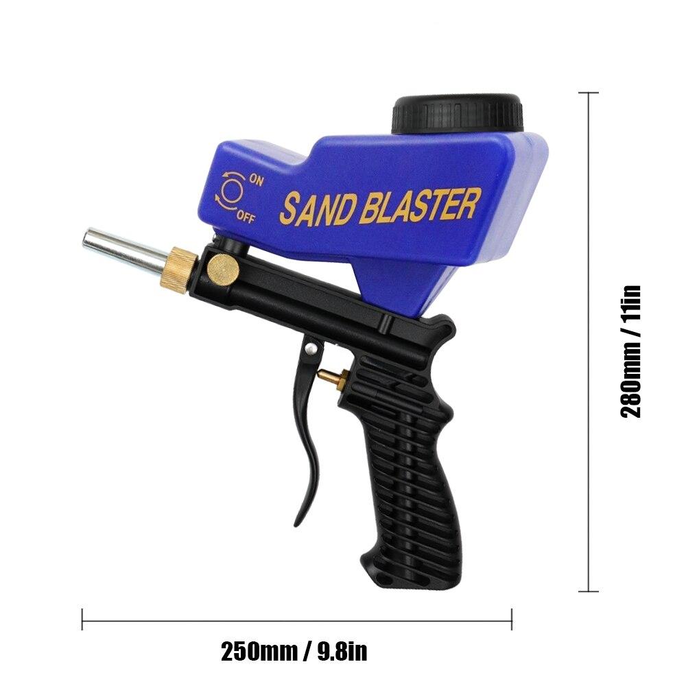 2.8 Meter Sand Blasting Wet Blaster High Pressure Washer Sandblasting Satz