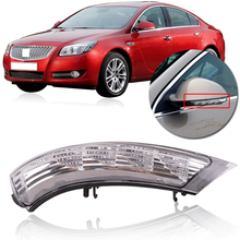 Capqx Rear Outside Mirror Led Turn Signals For Buick Regal 2009 2010 2017