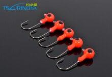 Trulinoya Jig Head Hook with Ring weight 3.5g 5g 7g 10g small Jigs Lure barbed hook Jigger Hook Worm Lure Accessories P06 Carpe
