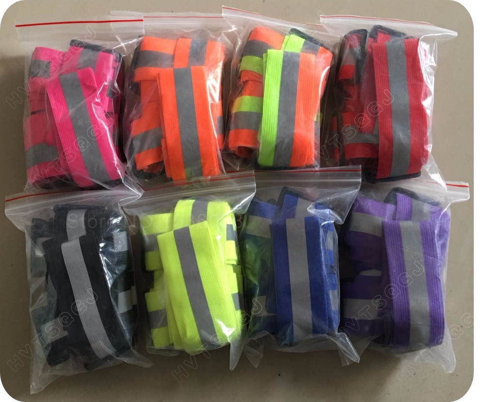 Safety Clothing  Chaleco Reflectante Reflective 3M Fabric Material Strip Tap Band Vest & Jacket For Women Or Men