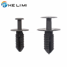 30x Push Type Fender Liner Rivet Trim Panel Fastener Clip For BMW Mercedez Benz FREE SHIPPING 500x auto push type fastener retainer rivet for bmw mercedez benz car accessories hkpost free shipping
