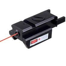 20 мм/11 мм Тактический Red Dot Лазерный Прицел Picatinny Уивер Рейку Для Пистолета Glock 17 19 20 21 22 23 30 31 32 Beretta