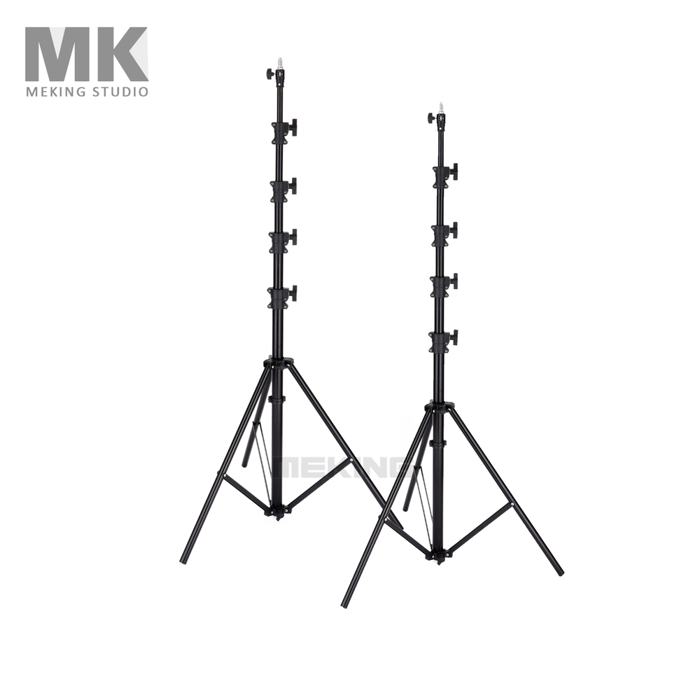 Photo Studio Photography Light Stand 450cm 15ft 2*MK4.8 Air Cushion Lightstand for support system
