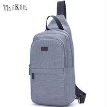 ThiKin Large Capacity Stylish Women Chest Bag Korean Style Women Crossbody Messenger Bag Ipad Travel Sling Shoulder Bag