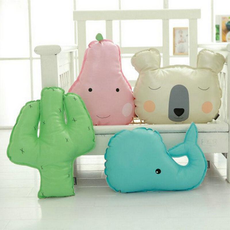 40cm Wholesale PU Pear Cloth Doll cacti Doll Stuffed plush birthday font b gift b font