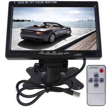 7Inch Car HD LCD Display 18 LED Bus Camera Monitor Rear View Display Kit 170 Degree Wide Angle Night Vision