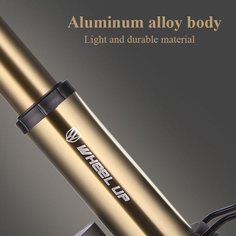 RAD UP Fahrradpumpe Manometer Tragbare Ultraleichte Pumpe - Radfahren - Foto 4