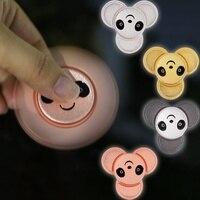 4 Colours Finger Spinner Panda Rotating Fidget Hand Spinner ADHD Autism Fingertips Fingers Gyro Reduce Stress